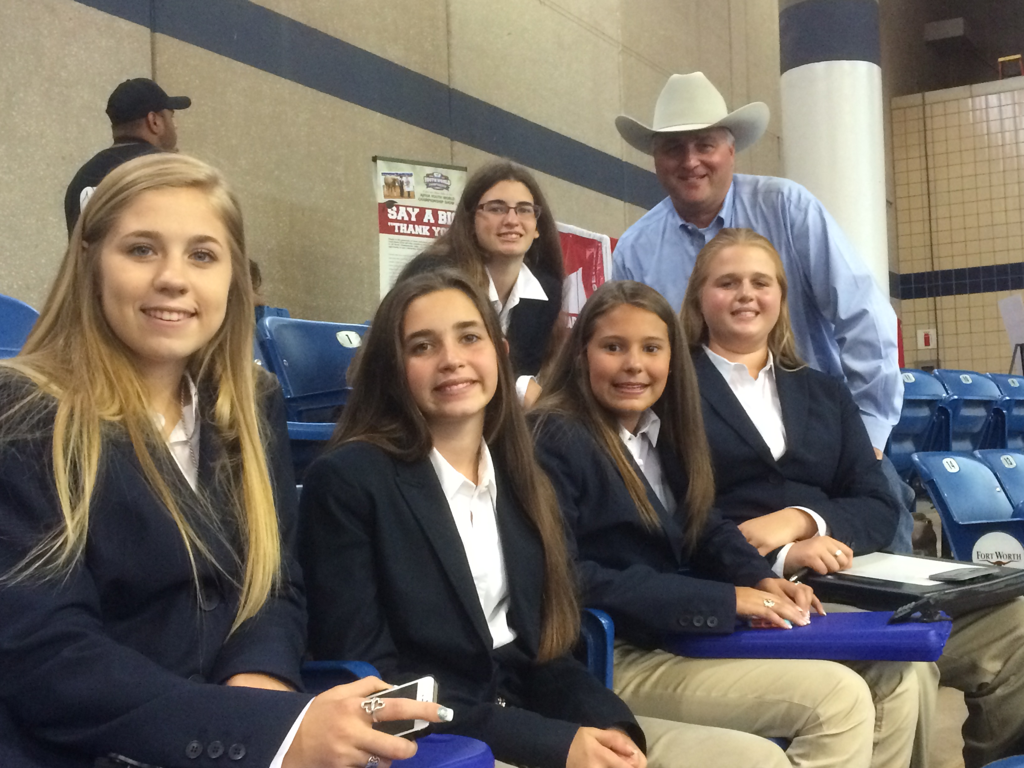 Judging Team Competes At Paint Youth World Show 187 Waller